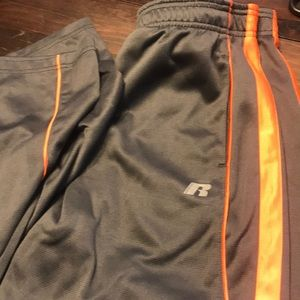 Other - Boys XL 14/16 Russel athletic gray/orange pants